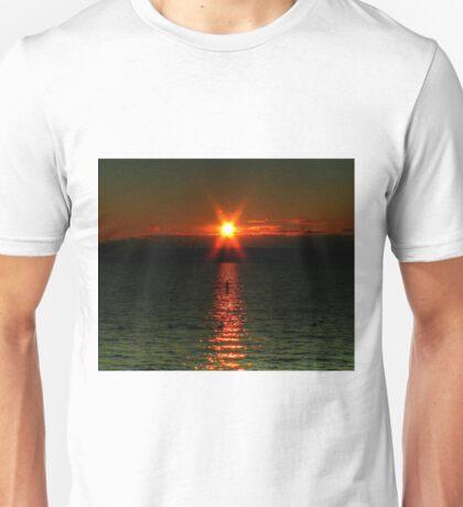 """""""Starry-Eyed"""" Sunset Unisex T-Shirt"""