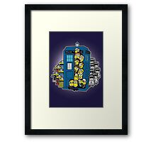 Behind You Doc Minion Framed Print