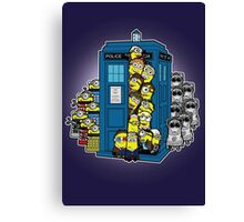Behind You Doc Minion Canvas Print