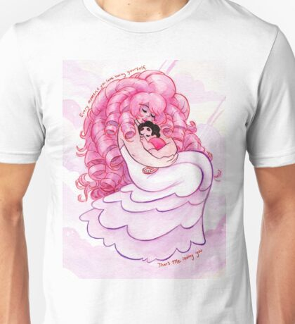 That's me Loving You: Steven Universe Rose Quartz and Steven  Unisex T-Shirt