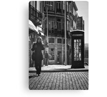 The Dying Telephone Booth Canvas Print