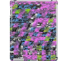 TOXIC SLUDGE Nintendo Glitch iPad Case/Skin