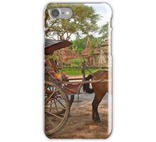 Horse Cart in Bagan iPhone Case/Skin