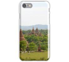 Pagodas Everywhere in Bagan iPhone Case/Skin