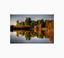 Autumn on Lake Devonian Unisex T-Shirt
