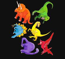 Colourful Dinos! Unisex T-Shirt