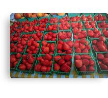 Farmers Market Series Metal Print