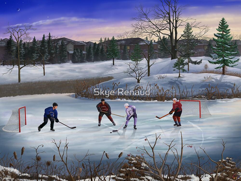 Pond Hockey by Skye Renaud