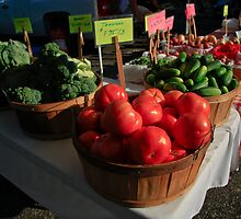 Farmers Market Series by Wendy Mogul