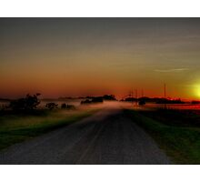 Mist on the Prairies Photographic Print