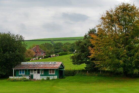 Uplyme & Lyme Regis Cricket Club by Susie Peek