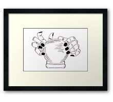 Crystal Ball Framed Print