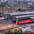York Railway Station. by Colin Metcalf