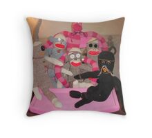 We can all get along! Throw Pillow