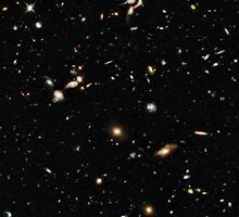 Hubble Deep Field by Jarriet