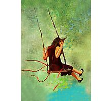 The Swings  Photographic Print