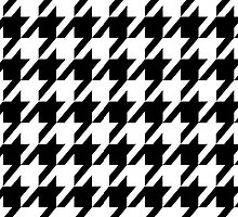 Houndstooth by MBJP BLACK LABEL