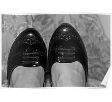 A Special Pair of Black Shoes Poster