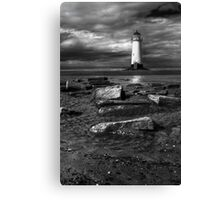 Lighthouse at Talacre Canvas Print