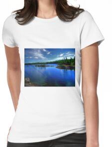 Dogtooth Lake Womens Fitted T-Shirt