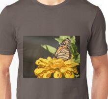 Monarch On Zinnia Unisex T-Shirt