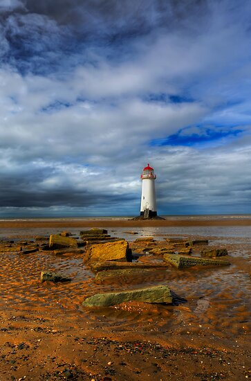 Crooked Lighthouse by Adrian Evans