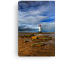 Crooked Lighthouse Canvas Print