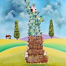 Statue of liberty made of sheep and cows by gordonbruce