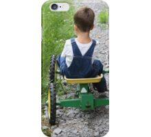 My Little Green Tractor iPhone Case/Skin