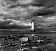 The Old Lighthouse by Adrian Evans
