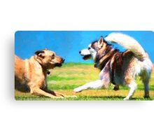 """Dog Park"" 1 Canvas Print"