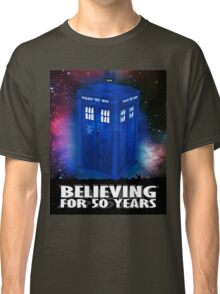 DR WHO BELIEVING Classic T-Shirt
