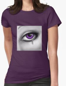 Purple Eye Crying T-Shirt