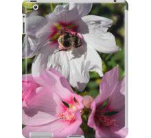 Bee on White Flower iPad Case/Skin