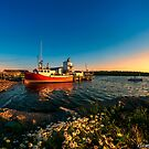 Late in the Day at Fisherman's Cove  by kenmo