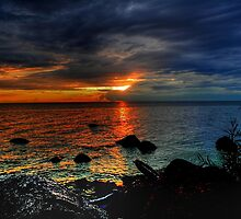 Canadian Sunsets by Larry Trupp