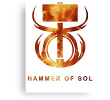Destiny - Hammer of Sol Canvas Print