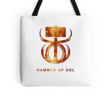 Destiny - Hammer of Sol Tote Bag