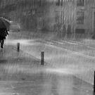 Rainy Urban Evening by Mariano57