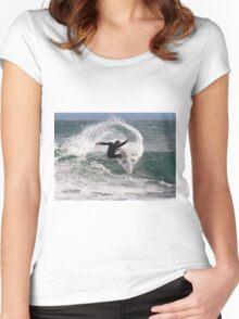 Water Fan Women's Fitted Scoop T-Shirt