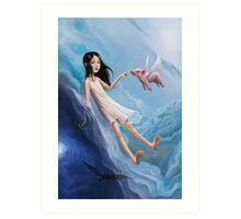 Angels & Devils Art Print