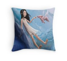 Angels & Devils Throw Pillow