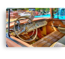 Two-Toned Pontiac-Interior Canvas Print