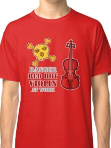 Red Hot Violin Classic T-Shirt