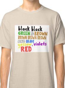 Colours - Grouplove Classic T-Shirt