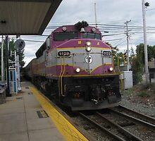 1129 MBTA Commuter Rail by Eric Sanford