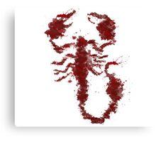 Scorpion Ives Canvas Print