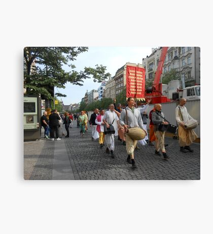 Show and walk! Canvas Print