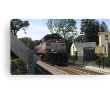 1133 MBTA Commuter Rail Canvas Print