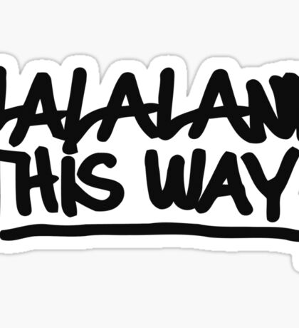 Chloe's Decal - Lalaland This Way Sticker